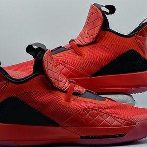 Nike Air Jordan 33 XXXIII Retro Red Men's Size 17